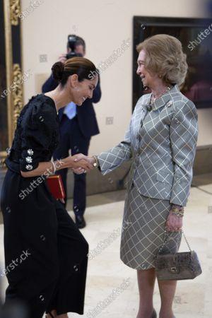 Editorial photo of American Iberian Patronage of Callia event, Madrid, Spain - 26 Feb 2020