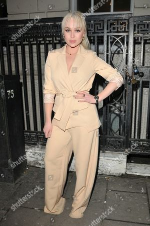 Editorial photo of In The Style x Jacqueline Jossa fashion collaboration launch party, Tape London, UK - 27 Feb 2020