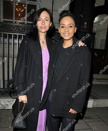 Editorial picture of In The Style x Jacqueline Jossa fashion collaboration launch party, Tape London, UK - 27 Feb 2020