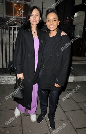 Stock Image of Kate Holderness and Adele Roberts