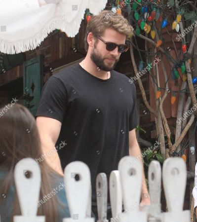 Editorial image of Liam Hemsworth out and about, Los Angeles, USA - 27 Feb 2020