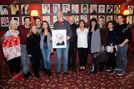 Editorial picture of James Cromwell receives Portrait at Sardi's, New York, USA - 27 Feb 2020
