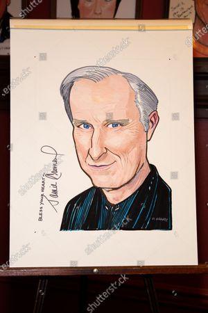 James Cromwell's portrait