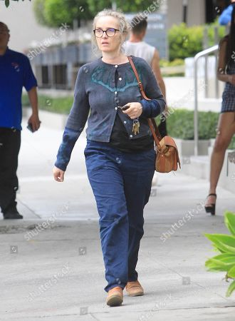 Editorial picture of Julie Delby out and about, Los Angeles, USA - 27 Feb 2020