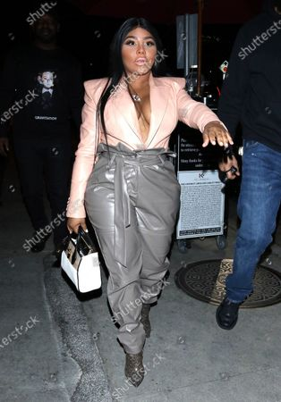 Editorial photo of Celebrities out and about, Los Angeles, USA - 27 Feb 2020