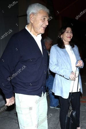 Stock Picture of Richard Donner and Lauren Shuler Donner