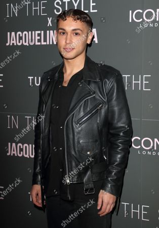 Shaheen Jafargholi attends the In The Style x Jacqueline Jossa's Launch Party at the Tape London, Hanover Square