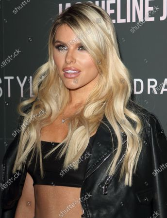 Hayley Hughes attends the In The Style x Jacqueline Jossa's Launch Party at the Tape London, Hanover Square