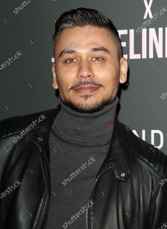 Ricky Norwood attends the In The Style x Jacqueline Jossa's Launch Party at the Tape London, Hanover Square