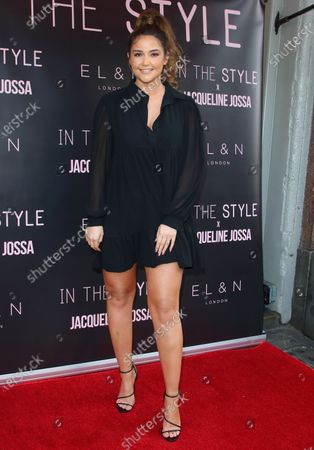 Jacqueline Jossa launched her first In The Style collection at the EL&N Café Brompton Road