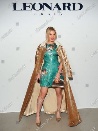 Editorial photo of Leonard Paris show, Front Row, Fall Winter 2020, Paris Fashion Week, France - 27 Feb 2020