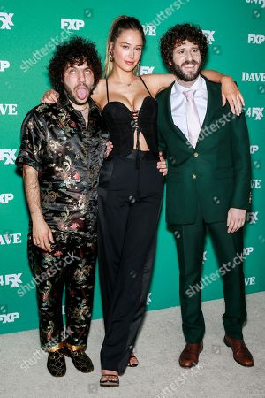 Benny Blanco, Elsie Hewitt and Lil Dicky
