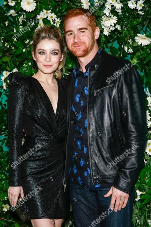 Stock Photo of Sarah Bolger and Andrew Santino