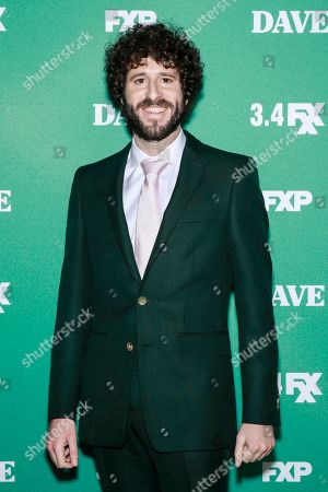 Editorial image of 'Dave' TV Show premiere, Arrivals, Los Angeles, USA - 27 Feb 2020