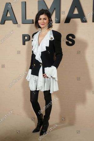 Audrey Tautou in the front row