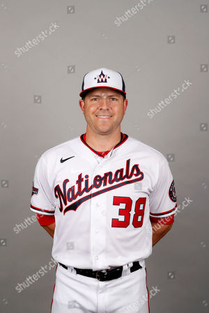 This is a 2020 photo of JB Shuck of the Washington Nationals baseball team. This image reflects the Nationals active roster as of, when this image was taken