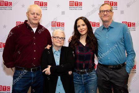 Stock Picture of David Morse, Paula Vogel, Mary-Louise Parker, Mark Brokaw