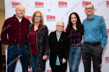 David Morse, Johanna Day, Paula Vogel, Mary-Louise Parker, Mark Brokaw