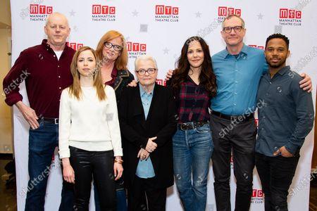 Stock Image of David Morse, Alyssa May Gold, Johanna Day, Paula Vogel, Mary-Louise Parker, Mark Brokaw, Chris Myers
