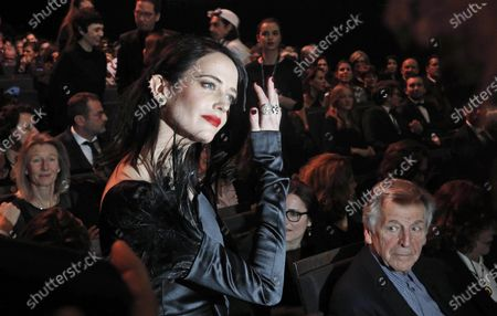 Eva Green attends the 45th annual Cesar awards ceremony held at the Salle Pleyel concert hall in Paris, France, 28 February 2020.