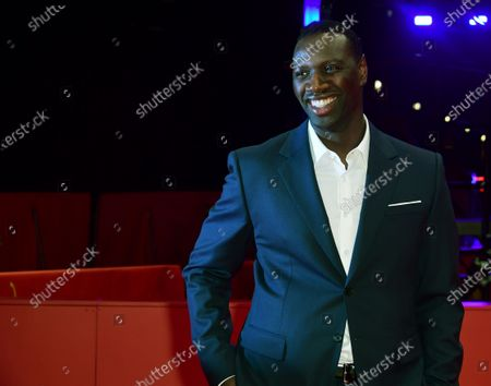 Omar Sy arrives for the premiere of 'Police' (Night Shift) during the 70th annual Berlin International Film Festival (Berlinale), in Berlin, Germany, 28 February 2020. The movie is presented in the Berlinale Special section at the Berlinale that runs from 20 February to 01 March 2020.