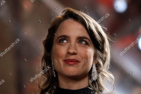 Actress Adele Haenel arrives to attend the Cesar award ceremony, in Paris. The Cesar awards ceremony for France is the equivalent of the Oscars