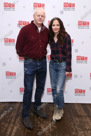 David Morse and Mary-Louise Parker