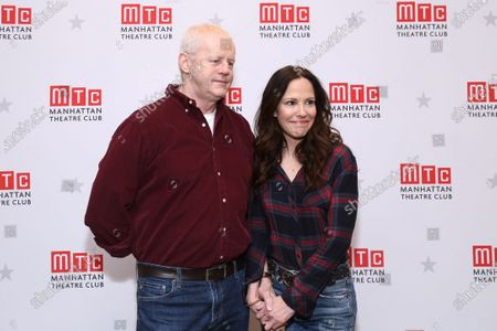 Stock Image of David Morse and Mary-Louise Parker