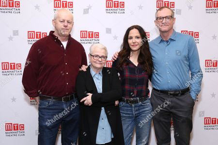 David Morse, Paula Vogel, Mary-Louise Parker, and Mark Brokaw
