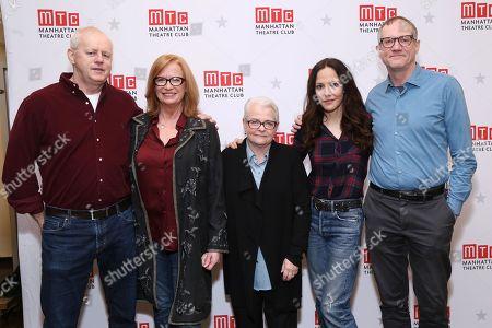 David Morse, Johanna Day, Paula Vogel, Mary-Louise Parker, and Mark Brokaw