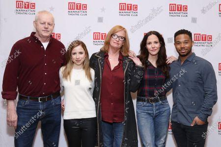 David Morse, Alyssa May Gold, Johanna Day, Mary-Louise Parker, and Chris Myers