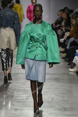 Editorial image of Lutz Huelle show, Runway, Fall Winter 2020, Paris Fashion Week, France - 28 Feb 2020