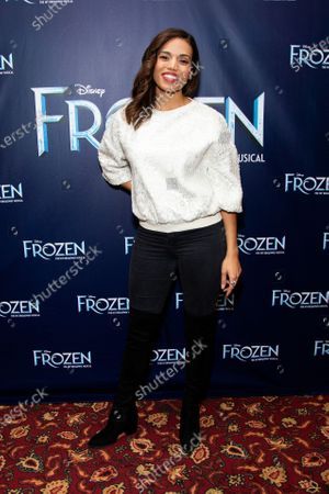Editorial image of 'Frozen' play meet and greet, New York, USA - 28 Feb 2020