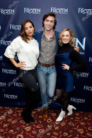 Editorial picture of 'Frozen' play meet and greet, New York, USA - 28 Feb 2020