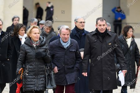 Editorial photo of National Tribute in memory of Jean Daniel at the Hotel Des Invalides, Paris, France - 28 Feb 2020