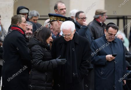 Anne Hidalgo and Lionel Jospin
