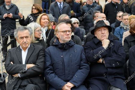Editorial picture of National Tribute in memory of Jean Daniel at the Hotel Des Invalides, Paris, France - 28 Feb 2020