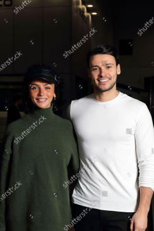 Stock Picture of Kady McDermott and Myles Barnett