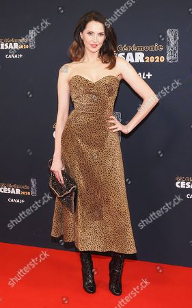 Editorial picture of 45th Cesar awards, Arrivals, Paris, France - 28 Feb 2020