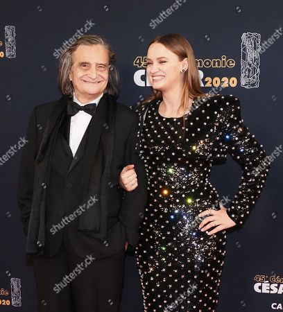 Jean-Pierre Leaud and Sara Forestier