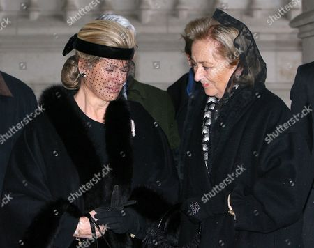 Princess Lea and Queen Paola