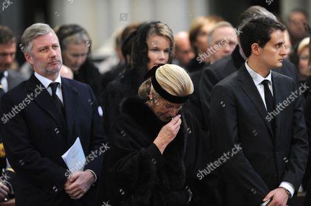 Crown Prince Philippe and Princess Lea
