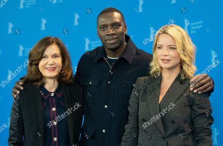 Anne Fontaine, Omar Sy and Virginie Efira