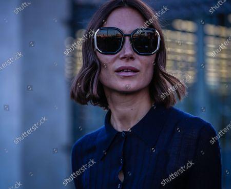 Stock Image of Street Style, Giorgia Tordini