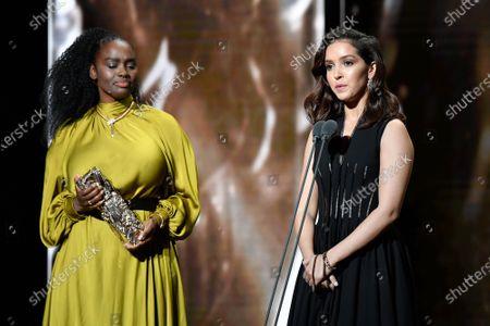 Aissa Maiga and Luana Bajrami