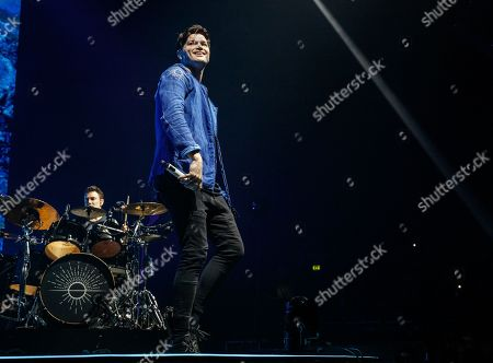 Editorial image of The Script in concert at Resorts World Arena, Birmingham, UK - 28 Feb 2020