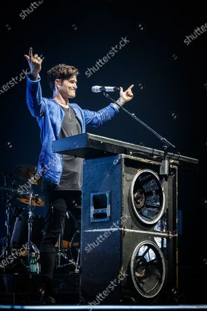 Editorial picture of The Script in concert at Resorts World Arena, Birmingham, UK - 28 Feb 2020
