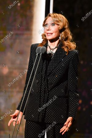Marisa Berenson on stage during the Cesar Film Awards 2020 Ceremony At Salle Pleyel