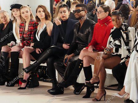 Sydney Sweeney, Ashley Benson, Jenn Goicoechea, Usher, Shailene Woodley and Janelle Monae