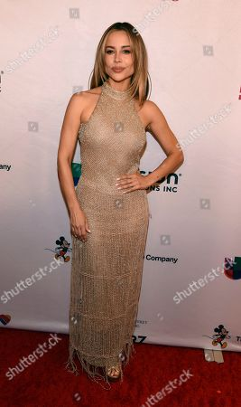 Stock Image of Zulay Henao poses at the 2020 Impact Awards at the Beverly Wilshire Hotel, in Beverly Hills, Calif